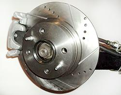 задние дисковые тормоза по акции с установкой
